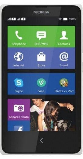 Мобильный телефон Nokia X Dual SIM White