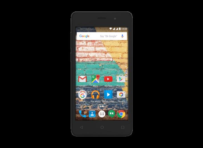 Мобильный телефон Archos 45B Neon Black