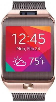 Смарт часы Samsung Gear2 SM-R3800 Gold Brown
