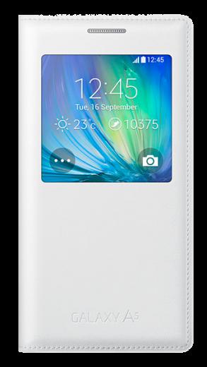 Чехол Samsung S View для Samsung Galaxy A5 500 White (EF-CA500BWEGRU)