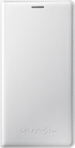 Чехол Samsung для S5 mini EF-FG800BWEGRU White