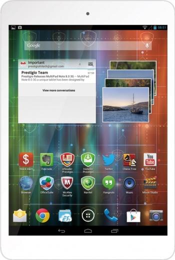 Планшет Prestigio MultiPad 4 Quantum 7.85 3G White (PMP5785C_3G_WH_QUAD)