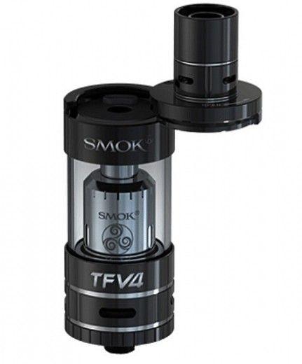 Атомайзер Smok TFV4 Mini Full Kit Black (SMTFV4MFBK)