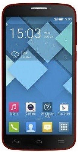Мобильный телефон Alcatel One Touch 7041D POP C7 Dual Sim Red