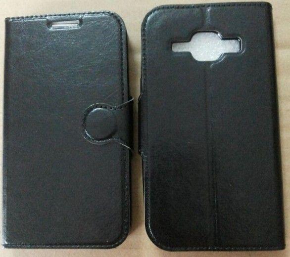 Чехол-книжка Vmax для Samsung J110 Black
