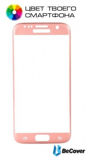 Защитное стекло BeCover для Samsung Galaxy A710 Pink