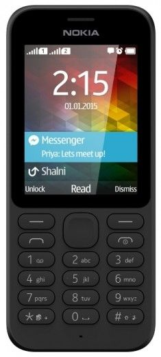 Мобильный телефон Nokia 215 Black