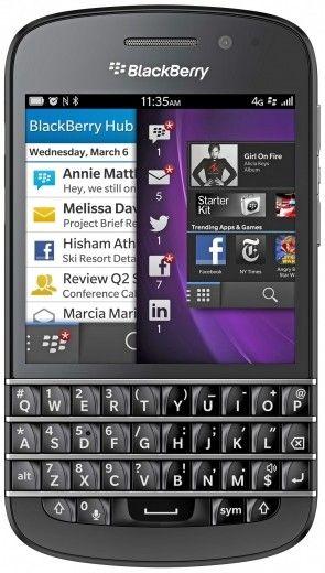 Мобильный телефон Blackberry Q10 Black