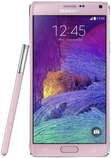 Смартфон Samsung Galaxy Note 4 N910H Pink