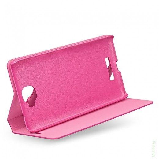 Чехол Book Cover Original для Samsung J500 (J5) Pink