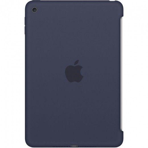 Силиконовый чехол Apple Silicone Case для  iPad mini 4 (MKLM2ZM/A) Midnight Blue