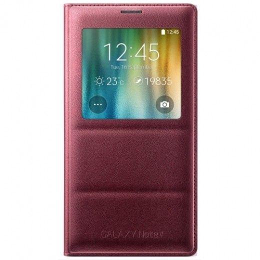 Чехол Samsung S View для Samsung Galaxy Note 4 N910H Electronic Plum (EF-CN910BREGRU)