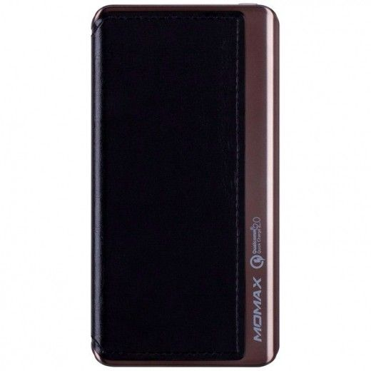 Портативная батарея MOMAX iPower Elite+ External Battery Pack 8000mAh (MFI) QC2.0 Black (IP52MFID)