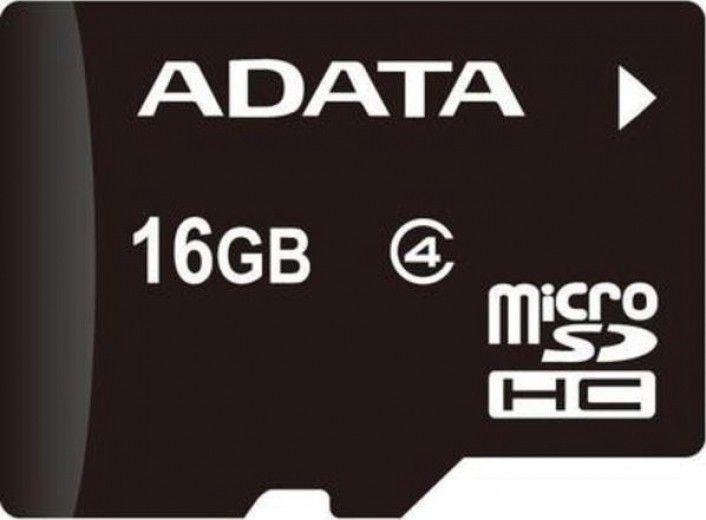 Карта памяти A-Data 16 GB microSDHC class 4 AUSDH16GCL4-R