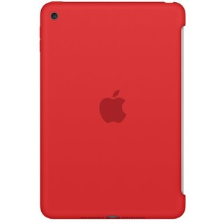 Силиконовый чехол Apple Silicone Case для  iPad mini 4 (MKLN2ZM/A) Red