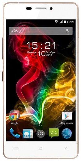 Мобильный телефон Fly IQ4516 Octa White