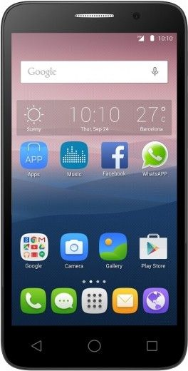 Мобильный телефон Alcatel One Touch POP 3 5025D Dual SIM Silver