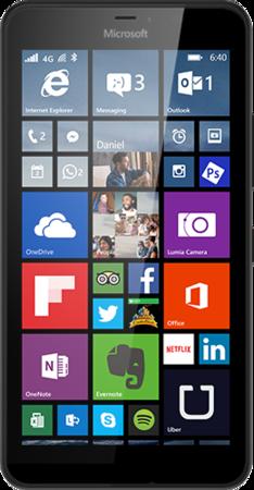Мобильный телефон Microsoft Lumia 640 XL Dual Sim Black