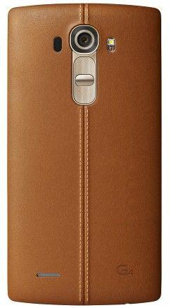 Накладка LG G4 Leather Battery Cover для LG G4 H818 Brown (CPR-110.AGEUBW)