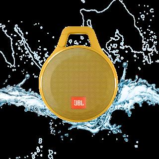 Портативная акустика JBL Clip+ Yellow (CLIPPLUSYEL)