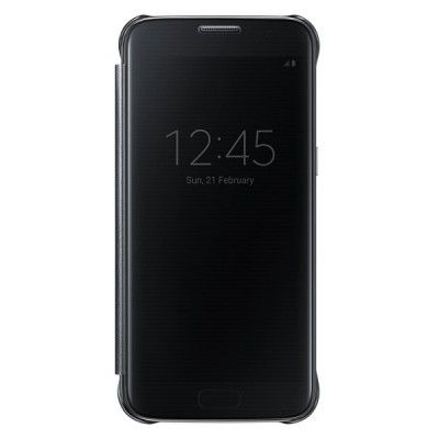 Чехол Samsung Clear View Cover для Samsung Galaxy S7 Black (EF-ZG930CBEGRU)