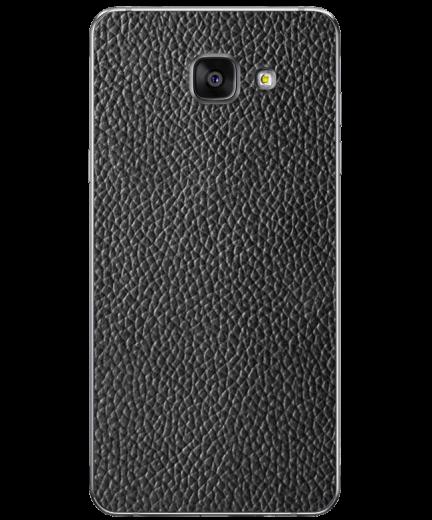 Кожаная наклейка Classic Black  для Samsung Galaxy A3 (2016)