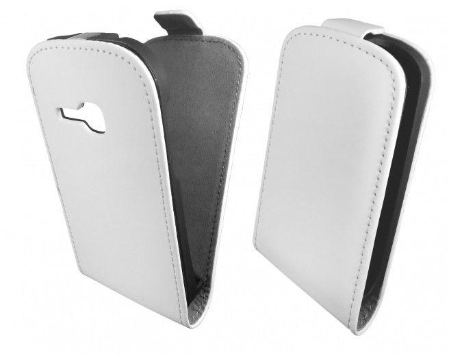 Чехол GlobalCase (Flip) для Samsung S6312 White