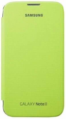 Чехол Samsung для GT-N7100 Galaxy Note II Lime Green (EFC-1J9FLEGSTD)