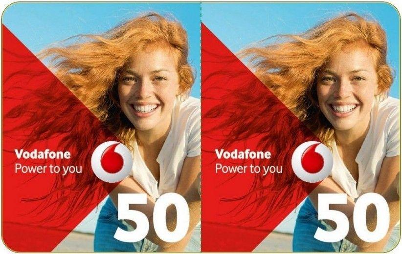 Ваучер поповнення рахунку Vodafone 50