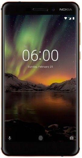Смартфон Nokia 6.1 2018 3/32GB Dual Sim Black