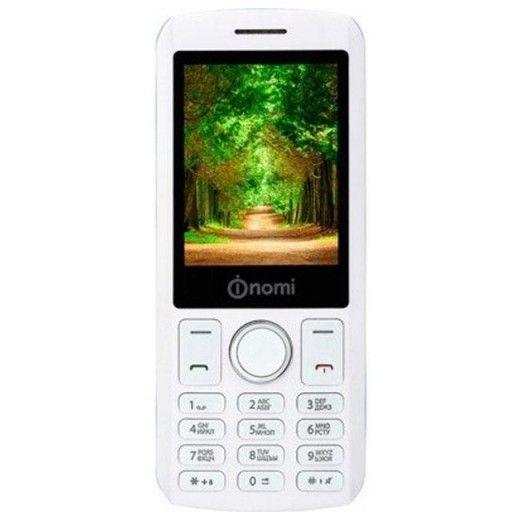 Мобильный телефон Nomi i243 White-Blue
