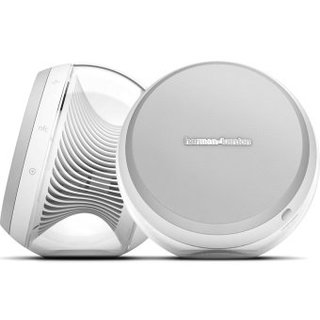 Акустика для iPhone/iPod/iPad  Harman/Kardon 2.0 Wireless Stereo Speaker System Nova White (HKNOVAWHTEU)