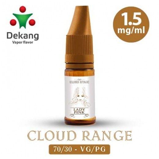 Жидкость для электронных сигарет Dekang Cloud Range «Lady pink» 1.5 мг/мл