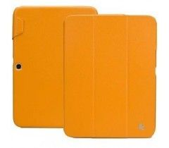 Чехол-книжка Jison Premium Leatherette Smart Case (JS-S52-03H80) Yellow for Galaxy Tab 3 10.1 (P5200)