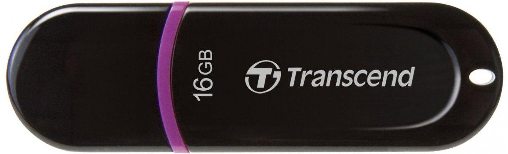 USB флеш накопитель Transcend JetFlash 300 16GB Black (TS16GJF300)
