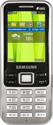 Мобильный телефон Samsung C3322 Duos Metallic Black