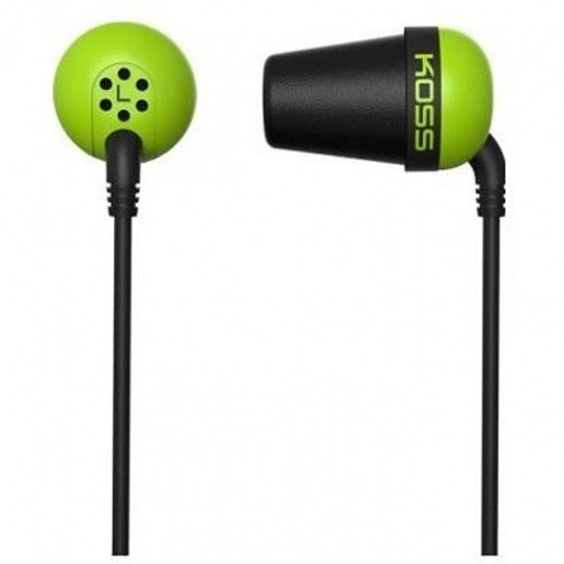 Навушники Koss The Plug Green