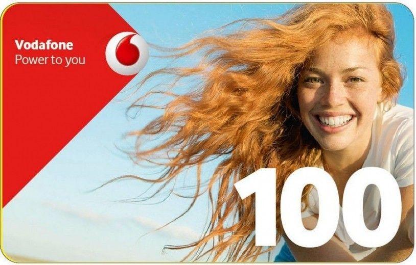 Ваучер пополнения счета Vodafone 100