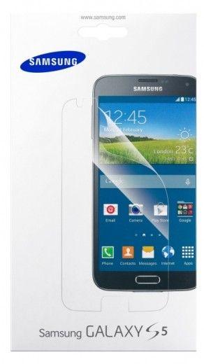 Защитная пленка Samsung для Samsung Galaxy S5 глянцевая (ET-FG900CTEGRU)