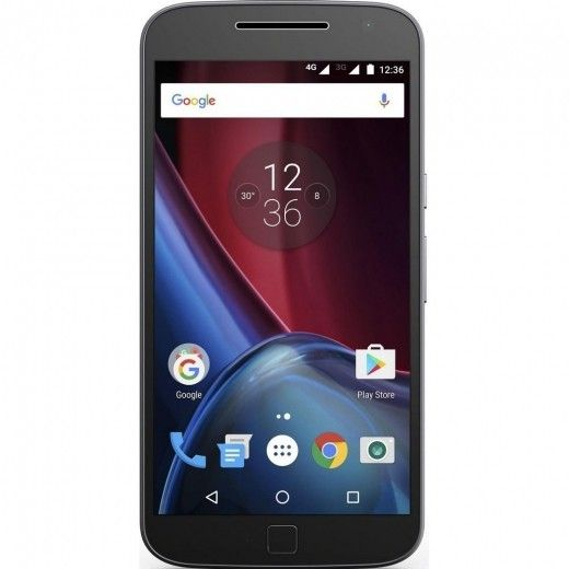 Мобильный телефон Motorola Moto G4 Plus (XT1642) Black