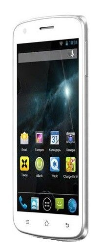 Мобильный телефон Fly IQ4404 Spark White