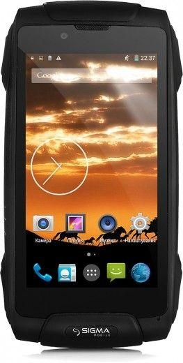 Мобильный телефон Sigma mobile X-treme PQ25 Black