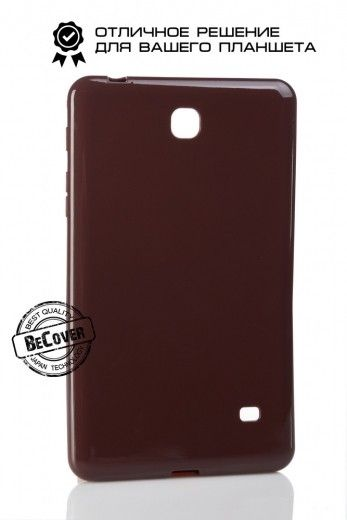 Силиконовый чехол BeCover для Samsung Tab 4 7.0 T230/T231 Brown
