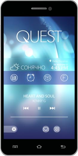 Мобильный телефон Qumo Quest 507 Black