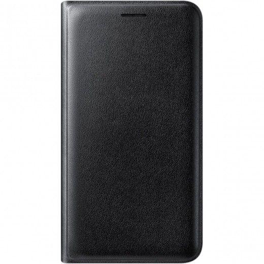 Чехол-книжка Flip Wallet для Samsung J1 2016 Black (EF-WJ120PBEGRU)