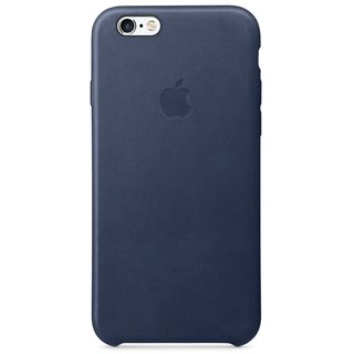 Чехол для Apple iPhone 6s Leather Case Midnight Blue (MKXU2ZM/A)