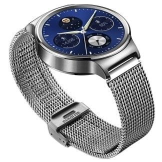 Смарт часы Huawei Watch (Stainless Steel with Stainless Steel Mesh Band)