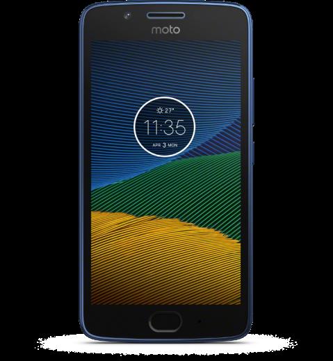 Смартфон Motorola Moto G5 (XT1676) Blue (PA610107UA)