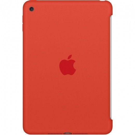 Силиконовый чехол Apple Silicone Case для  iPad mini 4 (MLD42ZM/A) Orange