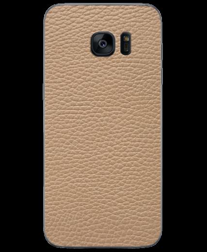 Кожаная наклейка Classic Ivory для Samsung Galaxy S7 (G930)